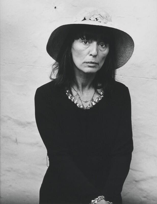 Dame Beryl Bainbridge, by Dmitri Kasterine, 2009, based on a work of 1972 - NPG P1322 - © Dmitri Kasterine