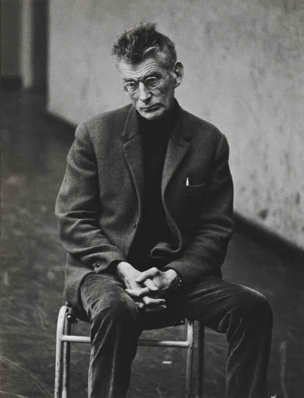 Samuel Beckett, by Dmitri Kasterine, 2009, based on a work of 1965 - NPG P1323 - © Dmitri Kasterine