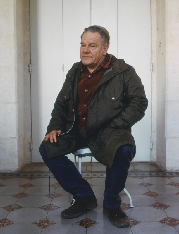 Lawrence George Durrell, by Dmitri Kasterine, 2009, based on a work of 1974 - NPG P1327 - © Dmitri Kasterine