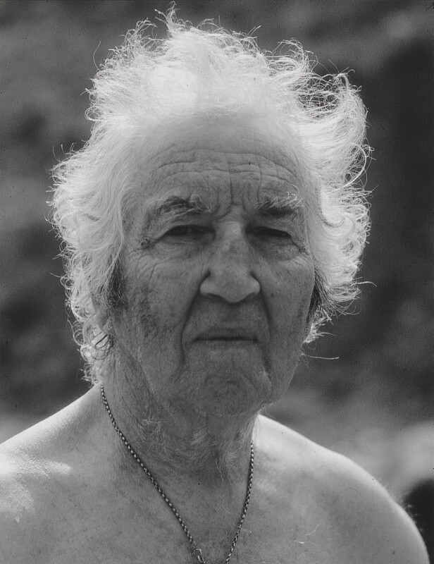 Robert Graves, by Dmitri Kasterine, 2009, based on a work of 1980 - NPG P1329 - © Dmitri Kasterine