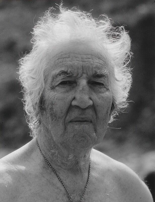 Robert Graves, by Dmitri Kasterine, 2009, based on a work of 1980 - NPG P1329 - © Dmitri Kasterine