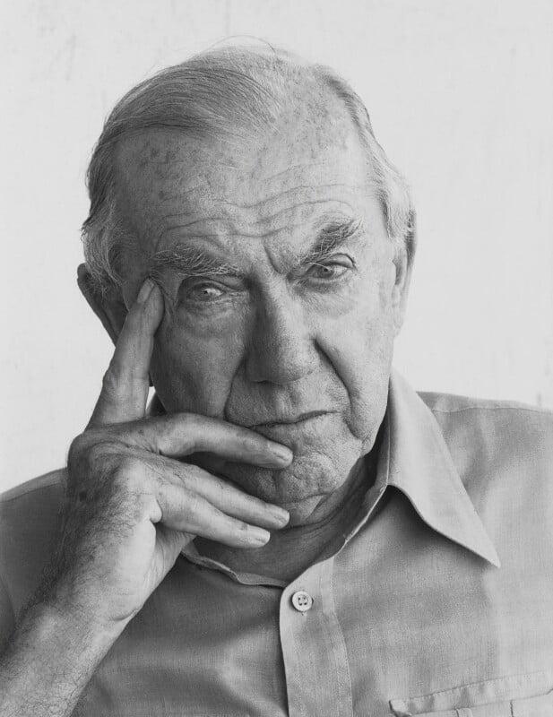 Graham Greene, by Dmitri Kasterine, 2009, based on a work of 1982 - NPG P1330 - © Dmitri Kasterine