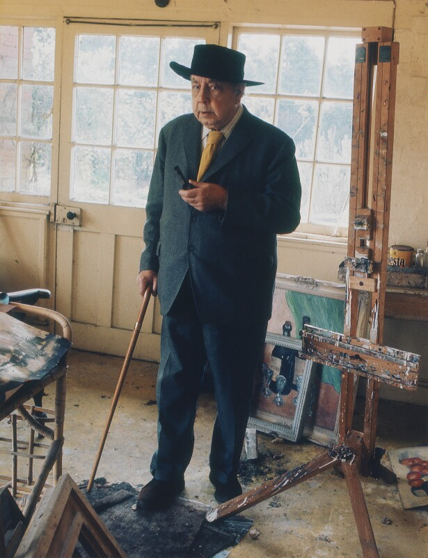 J.B. Priestley, by Dmitri Kasterine, 2009, based on a work of 1975 - NPG P1336 - © Dmitri Kasterine