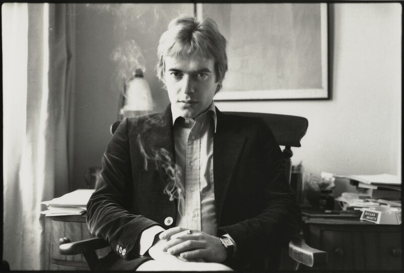 NPG x133037; Martin Amis - Portrait - National Portrait Gallery