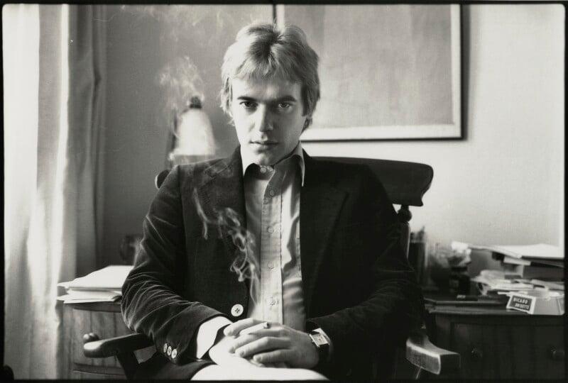 NPG x133037; Martin Amis - Portrait - National Portrait Gallery