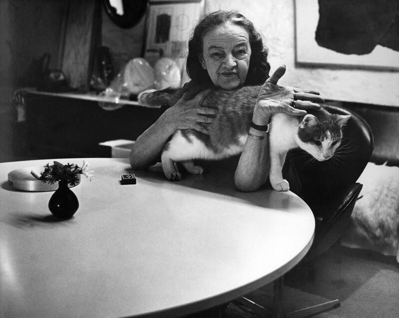 Barbara Hepworth, by Jorge ('J.S.') Lewinski, 1969 - NPG x13721 - If the sitter is a painter or sculptor: