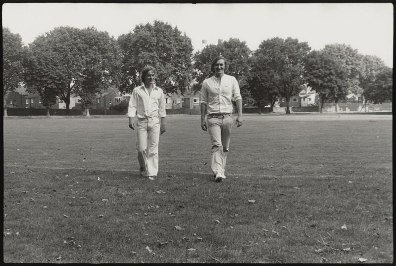 Martin Amis; Julian Patrick Barnes, by Angela Gorgas, 1978 - NPG x133040 - © Angela Gorgas