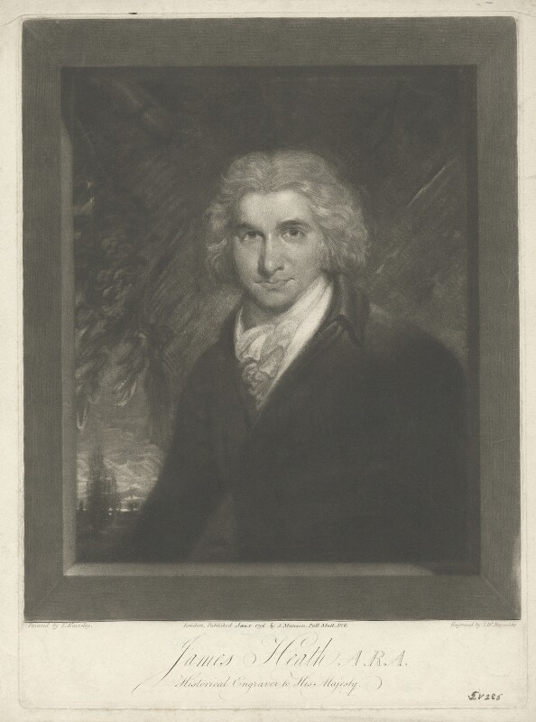 James Heath, by Samuel William Reynolds, published by  John Paul Manson, after  Thomas Kearsley, published 1 January 1796 - NPG D35651 - © National Portrait Gallery, London