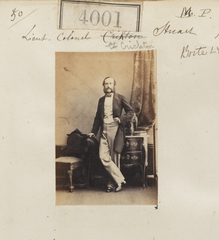 James Frederick Dudley Crichton-Stuart, by Camille Silvy, 30 May 1861 - NPG Ax54016 - © National Portrait Gallery, London