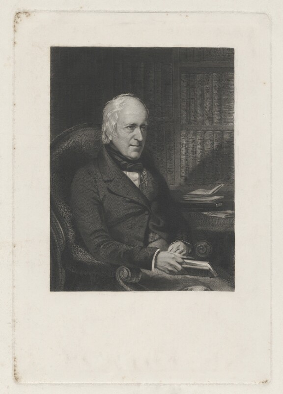 Sir Robert Heron, 2nd Bt, by Unknown artist, mid 19th century - NPG D35711 - © National Portrait Gallery, London
