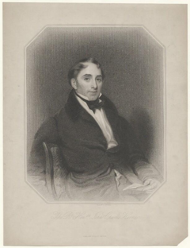 John Charles Herries, by Samuel Freeman, published by  George Virtue, 1840s - NPG D35715 - © National Portrait Gallery, London