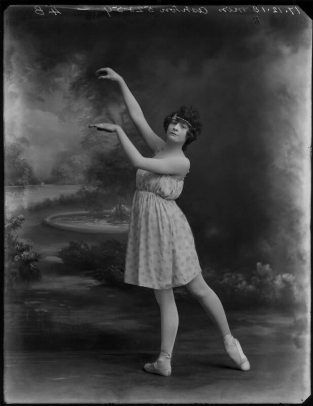 Miss Ashton, by Bassano Ltd, 17 December 1918 - NPG x154556 - © National Portrait Gallery, London