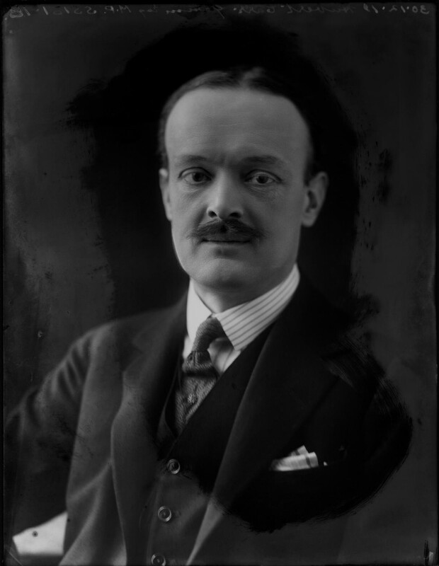 Hubert William Culling Carr-Gomm, by Bassano Ltd, 30 December 1919 - NPG x154612 - © National Portrait Gallery, London