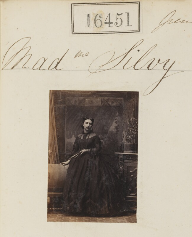 (Louise Marie Elisabeth Lucie) Alice Silvy (née Monnier), by Camille Silvy, 14 June 1865 - NPG Ax64363 - © National Portrait Gallery, London