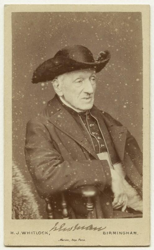 John Newman, by Henry Joseph Whitlock, 1879 - NPG x21522 - © National Portrait Gallery, London
