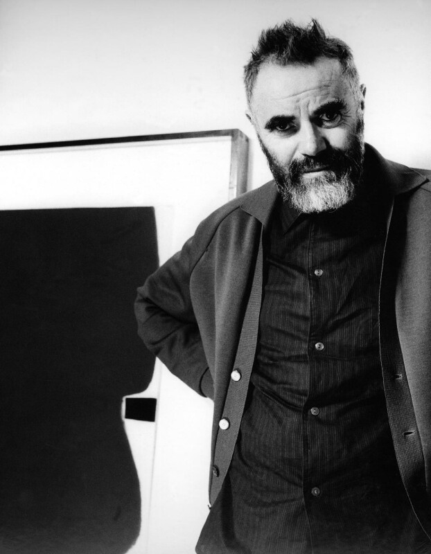 Victor Pasmore, by J.S. Lewinski, 1964 - NPG x13739 - If the sitter is a painter or sculptor: