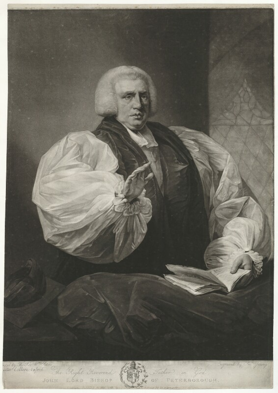 John Hinchliffe, by and published by John Young, after  Matthew William Peters, published 15 May 1788 - NPG D35856 - © National Portrait Gallery, London