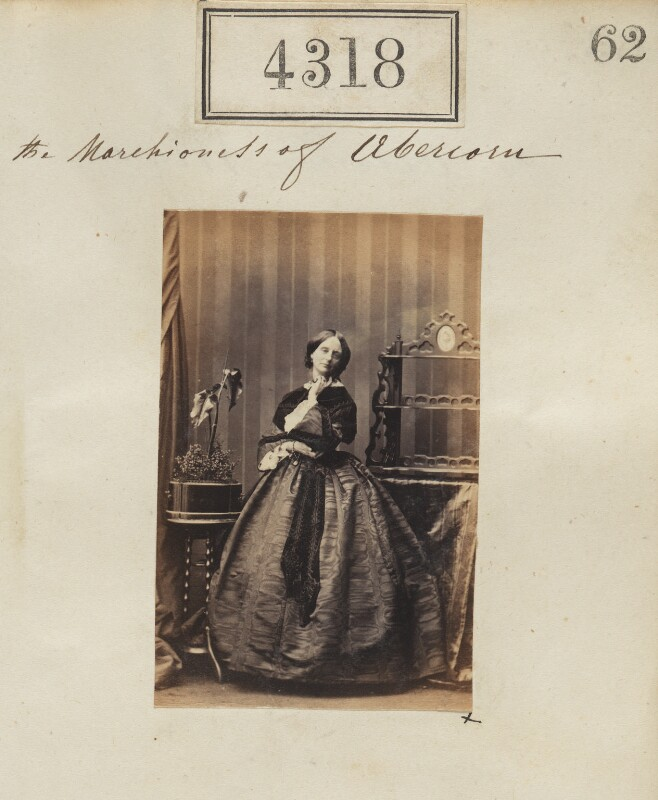 Louisa Jane (née Russell), Duchess of Abercorn, by Camille Silvy, 11 June 1861 - NPG Ax54332 - © National Portrait Gallery, London