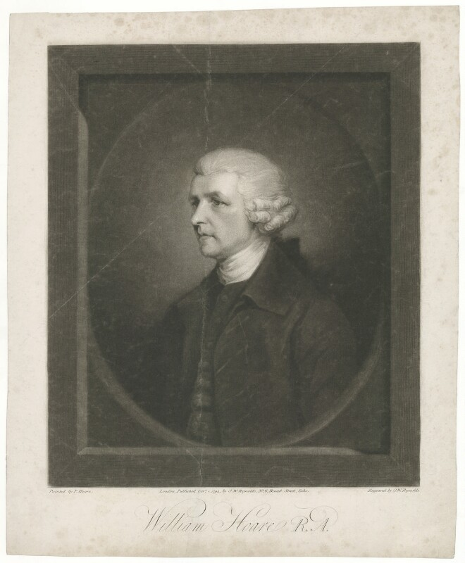 William Hoare, by and published by Samuel William Reynolds, after  Prince Hoare, published 1 October 1794 - NPG D35887 - © National Portrait Gallery, London