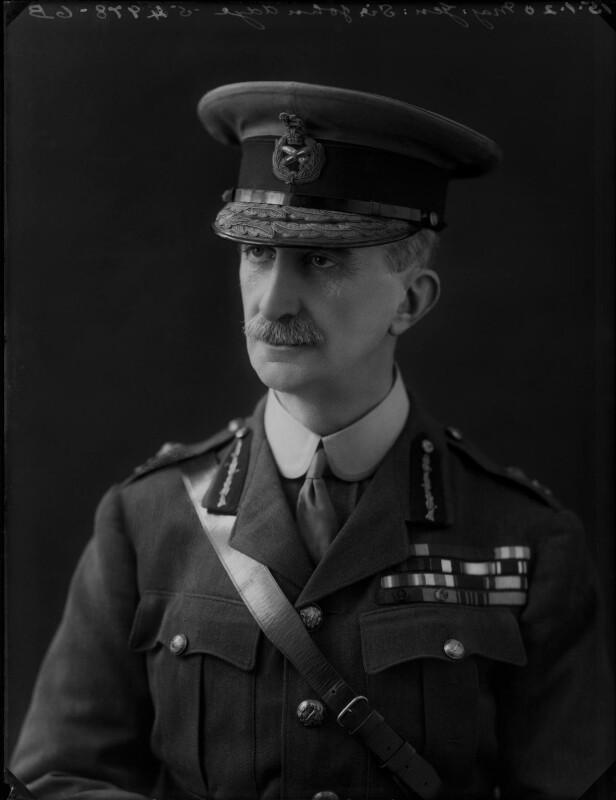 Sir John Adye, by Bassano Ltd, 15 January 1920 - NPG x154625 - © National Portrait Gallery, London