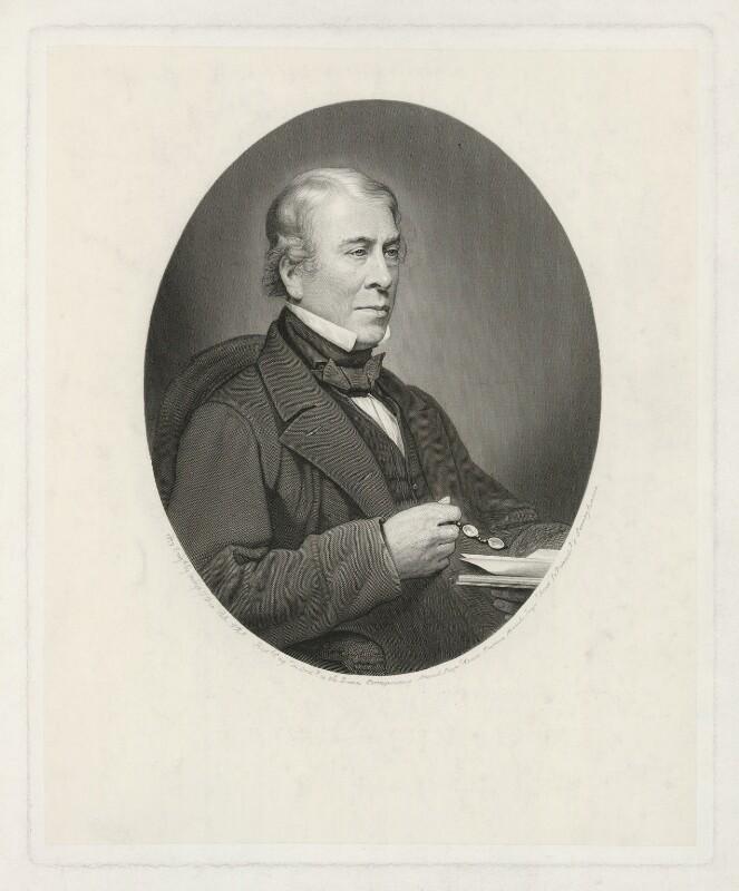 Robert Hollond, by George Thomas Doo, 1879 - NPG D35923 - © National Portrait Gallery, London