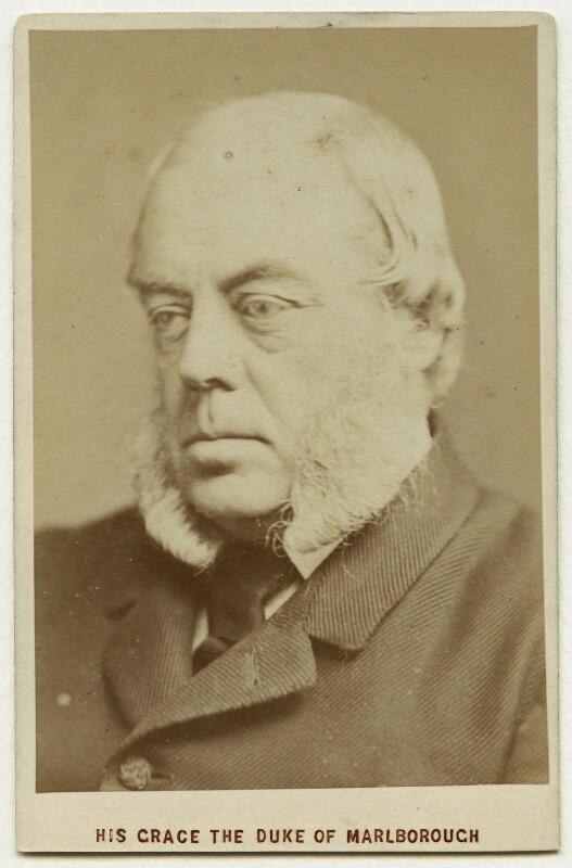John Winston Spencer Churchill, 7th Duke of Marlborough, by London Stereoscopic & Photographic Company, 1870s-1880s - NPG x75844 - © National Portrait Gallery, London
