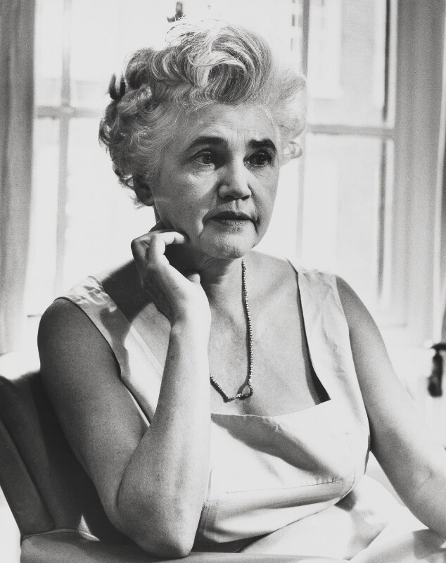 Jennie Lee, by Jorge ('J.S.') Lewinski, 1968 - NPG x13733 - If the sitter is a painter or sculptor: