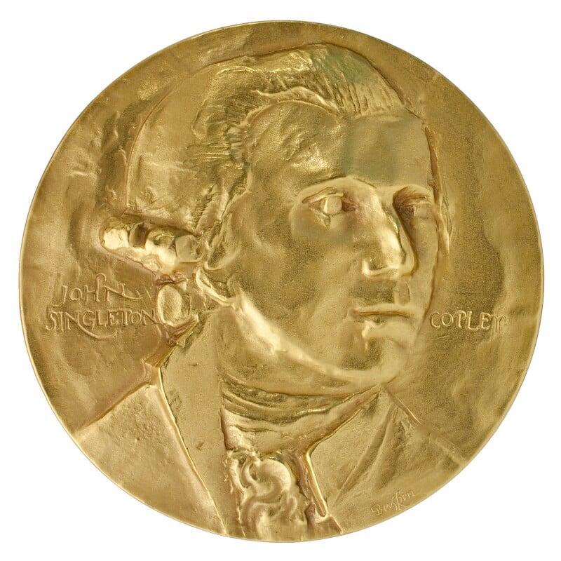 John Singleton Copley, by Medallic Art Company Ltd, after  John Singleton Copley, (1780-1784) - NPG D36120 - © National Portrait Gallery, London