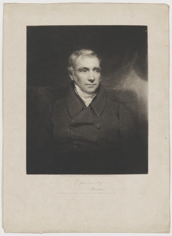 James Abercromby, 1st Baron Dunfermline, by and published by William Walker, after  John Jackson, published June 1835 - NPG D36028 - © National Portrait Gallery, London
