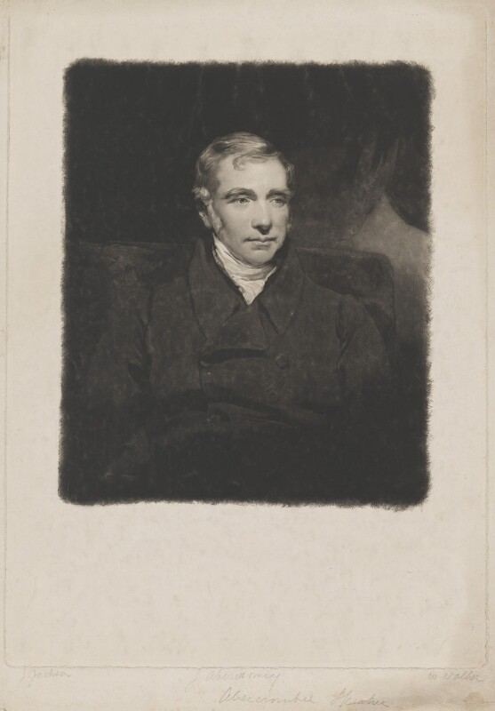 James Abercromby, 1st Baron Dunfermline, by and published by William Walker, after  John Jackson, published June 1835 - NPG D36030 - © National Portrait Gallery, London