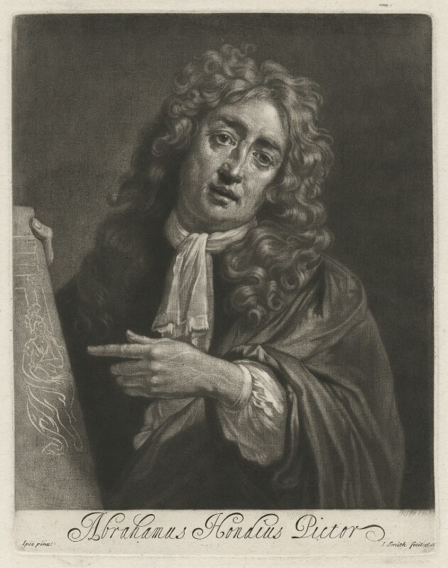 Abraham Danielzsoon Hondius (de Hont or de Hond), by and published by John Smith, after  Abraham Danielzsoon Hondius (de Hont or de Hond), 1689 - NPG D35944 - © National Portrait Gallery, London