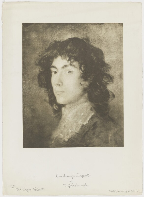 Gainsborough Dupont, after Thomas Gainsborough, 1910 (circa 1770-1775) - NPG D36042 - © National Portrait Gallery, London
