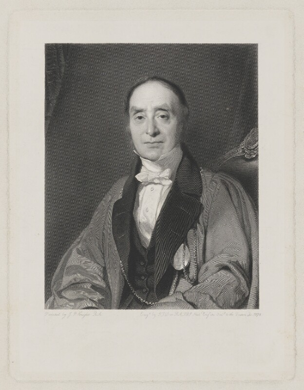 Sir Charles Lock Eastlake, by George Thomas Doo, after  John Prescott Knight, 1873 - NPG D36063 - © National Portrait Gallery, London