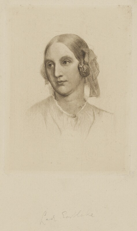 Elizabeth (née Rigby), Lady Eastlake, after Unknown artist, mid 19th century - NPG D36064 - © National Portrait Gallery, London