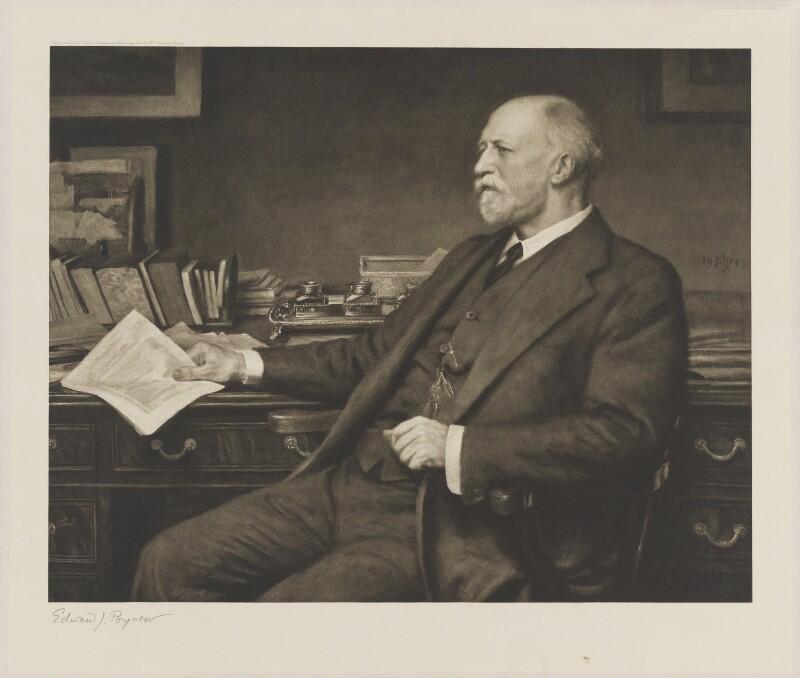 Sir Frederick Alexis Eaton, after Sir Edward John Poynter, 1st Bt, (1913) - NPG D36065 - © National Portrait Gallery, London