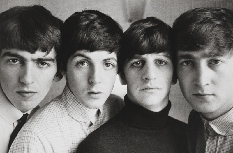 The Beatles (George Harrison; Paul McCartney; Ringo Starr; John Lennon), by Norman Parkinson, 12 September 1963 - NPG x133070 - © Norman Parkinson Archive/ Iconic Images