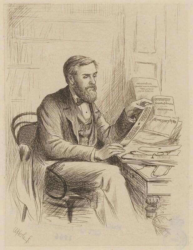 Heinrich Julius Eggeling, by William Brassey Hole, published 1884 - NPG D36089 - © National Portrait Gallery, London