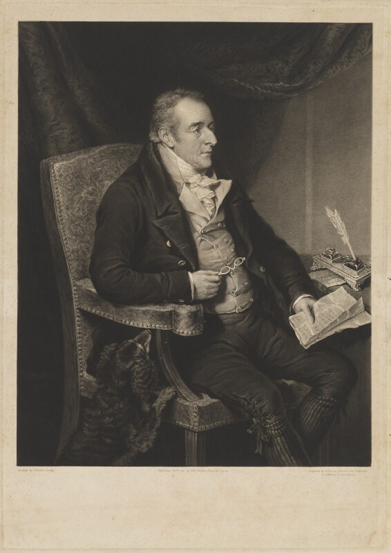 George O'Brien Wyndham, 3rd Earl of Egremont, by Charles Turner, published by  John Phillips, after  William Derby, published 1 December 1825 - NPG D36130 - © National Portrait Gallery, London