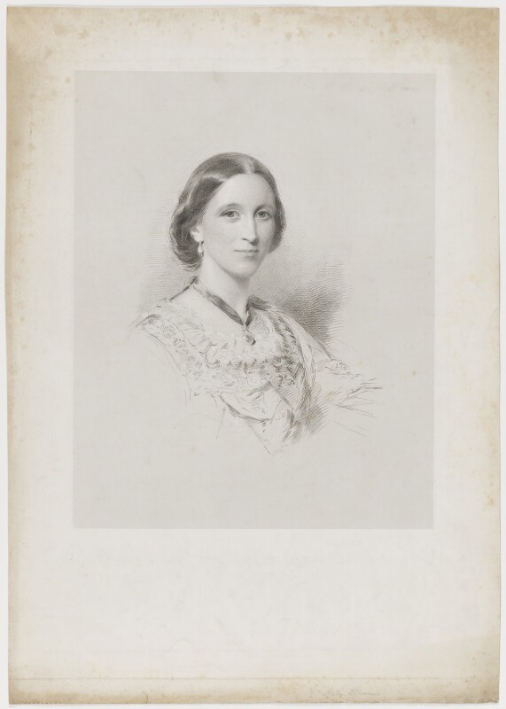 Mary Louisa (née Campbell), Countess of Ellesmere, after George Richmond, 1850s-1860s - NPG D36152 - © National Portrait Gallery, London