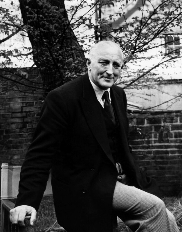 John Walgrave Halford Fremantle, 4th Baron Cottesloe, by Ida Kar, 1959 - NPG x88664 - © National Portrait Gallery, London