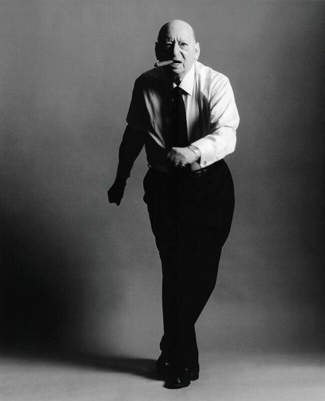 Lew Grade, Baron Grade, by Lord Snowdon, 1997 - NPG x133073 - © Armstrong Jones