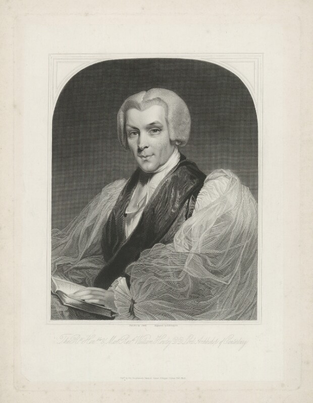 William Howley, by John Henry Robinson, published by  Dawe & Gowar (Gower), after  William Owen, 1827-1850 - NPG D36356 - © National Portrait Gallery, London