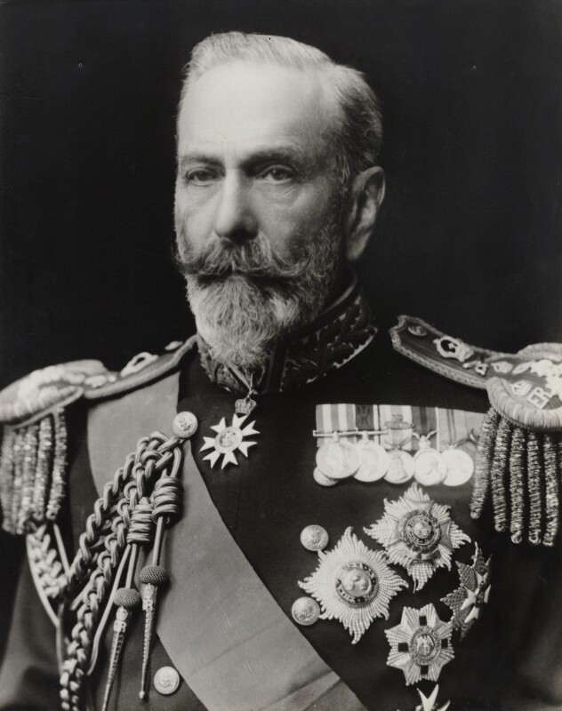 Louis Alexander Mountbatten, 1st Marquess of Milford Haven (Prince Louis of Battenburg), by Walter Stoneman,  - NPG x28756 - © National Portrait Gallery, London