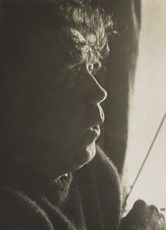 (William) Sydney Graham, by Andrew Lanyon, May 1968 - NPG P1341 - © Andrew Lanyon / National Portrait Gallery, London