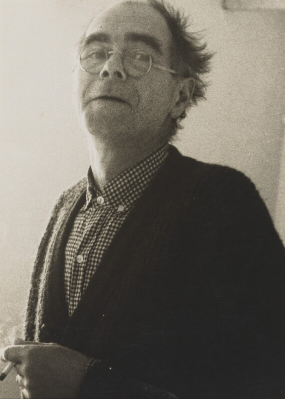 Roger Hilton, by Andrew Lanyon, April 1966 - NPG P1343 - © Andrew Lanyon / National Portrait Gallery, London