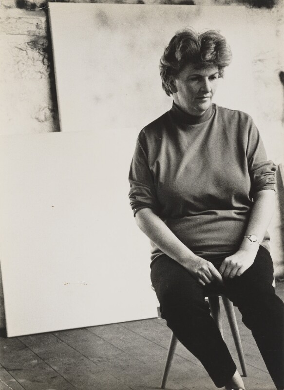 Nancy Wynne-Jones, by Andrew Lanyon, 1966 - NPG P1347 - © Andrew Lanyon / National Portrait Gallery, London