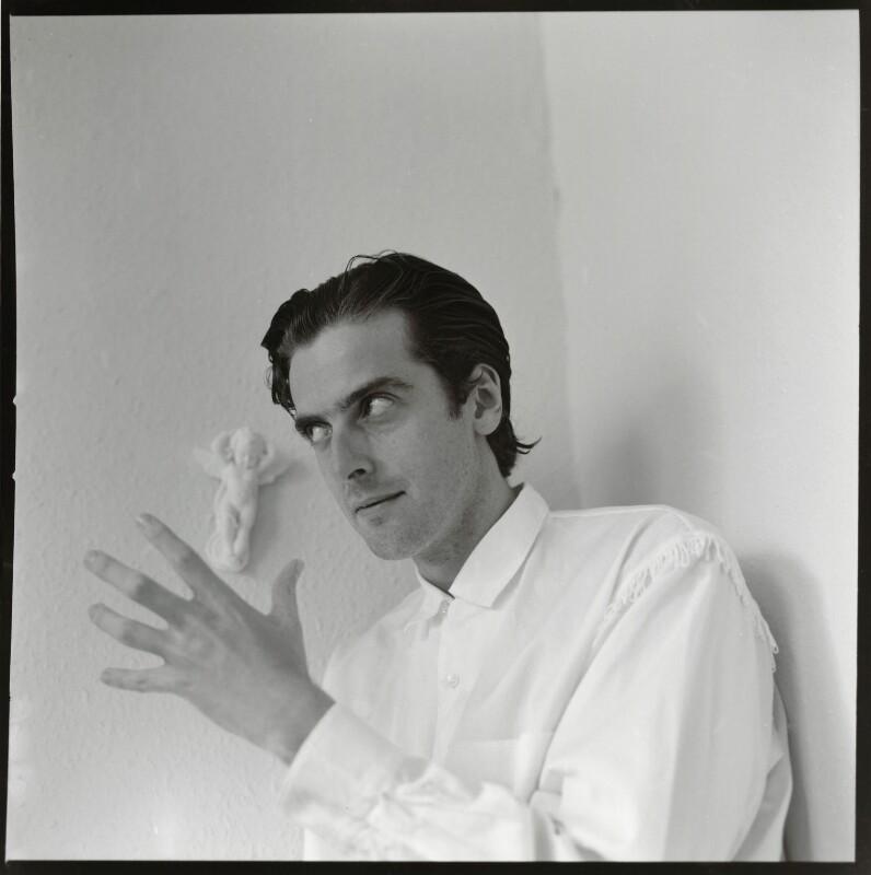 Peter Capaldi, by Jim McLean, 1990 - NPG x133092 - © Jim McLean / National Portrait Gallery, London