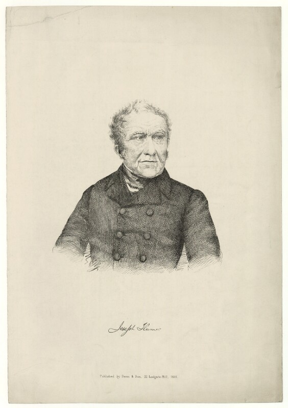 Joseph Hume, published by Dean & Son, published 1855 - NPG D36382 - © National Portrait Gallery, London