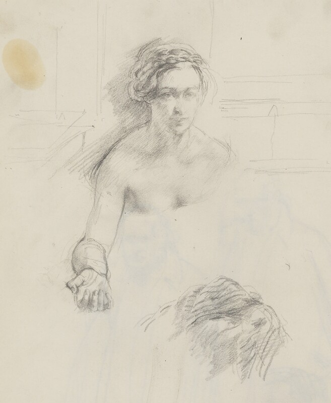 Unknown woman, by Henry Tonks, circa 1900-1932 - NPG 3072(18a) - © National Portrait Gallery, London