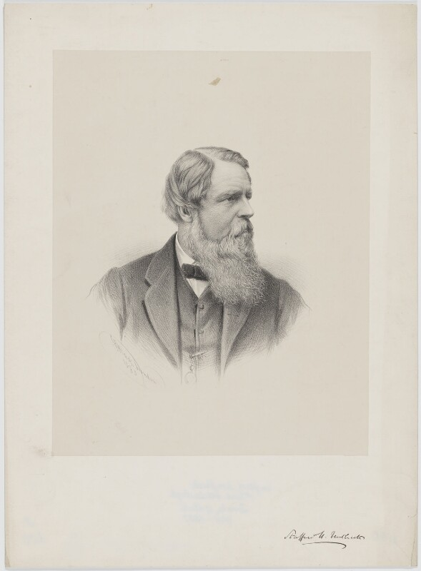 Sir Stafford Henry Northcote, 1st Earl of Iddesleigh, by George B. Black, 1880 - NPG D36435 - © National Portrait Gallery, London